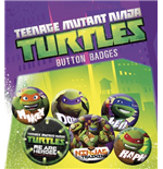 Badge Tortues ninja 212940