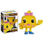 Pac-Man POP! Games Vinyl Figurine Ms. Pac-Man 8 cm