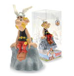 Astérix tirelire PVC Asterix On The Rock 14 cm