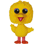 1 rue Sésame Figurine POP! TV Vinyl Big Bird (Flocked) 15 cm