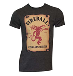 T-shirt Fireball - Label