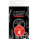 Porte-clés 5 seconds of summer 213464