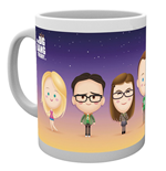 Tasse Big Bang Theory - Personnages