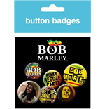Badge Bob Marley 213639