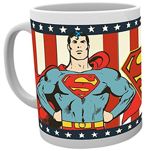 Tasse DC Comics Superman Rétro