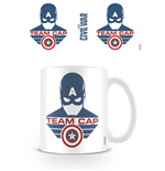 Captain America Civil War mug Team Cap