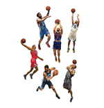 NBA Basketball série 28 assortiment figurines 15 cm (8)