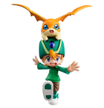Digimon Adventure G.E.M. Series statuette PVC Takaishi Takeru & Patamon 11 cm