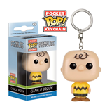 Peanuts porte-clés Pocket POP! Vinyl Charlie Brown 4 cm