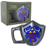 Legend of Zelda mug Hylian Shield 11 cm