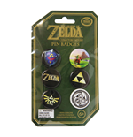 Legend of Zelda pack 6 badges