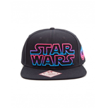 Star Wars casquette hip hop Snap Back Pink / Blue Logo