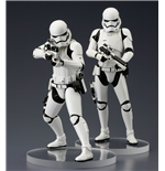 Star Wars Episode VII pack 2 statuettes PVC ARTFX+ First Order Stormtrooper 18 cm