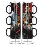 Star Wars Episode VII set 3 mugs céramique Black First Order Exclusive