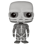 Attack on Titan Figurine POP! Animation Vinyl Colossal Titan Black & White 15 cm