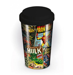 Marvel Comics mug de voyage Covers
