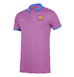 Polo FC Barcelone Nike Authentic 2016-2017 (Violet)