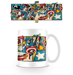 Tasse Marvel Retro - Captain America