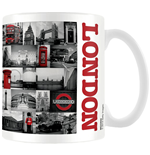 Tasse Londres - Collage