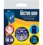 Badge Doctor Who  218402