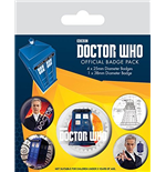 Badge Doctor Who  218408