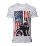 T-shirt Marvel Comics Captain America: Civil War Stars and Stripes, Taille M