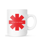Tasse Red Hot Chili Peppers 218607