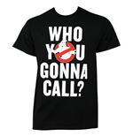 T-shirt Ghostbusters - Who You Gonna Call