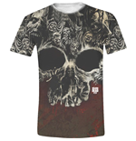 T-shirt The Walking Dead - Walkers Skull