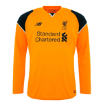 Maillot Liverpool FC 2016-2017 Away (Orange)