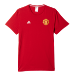 T-shirt Manchester United FC Adidas 3S 2016-2017 (Rouge)