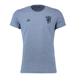 T-shirt Manchester United FC Adidas Devil Graphic 2016-2017 (Gris)