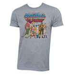 T-shirt He-Man Masters Of The Universe - Characters Logo