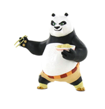 Kung Fu Panda mini figurine Po Eating 8 cm