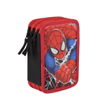 Trousse Triple Remplissage Spiderman