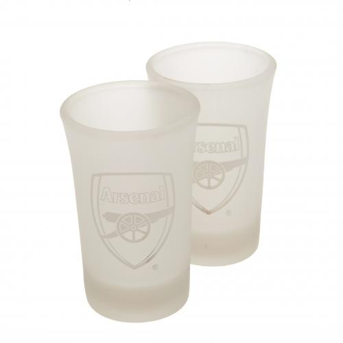 Set de Verres à Shot Arsenal FC