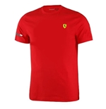 T-shirt Ferrari Rouge