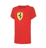 T-shirt Ferrari Rouge (Enfants)