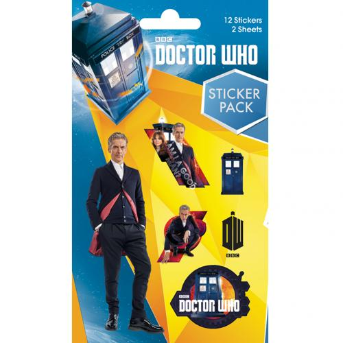 Autocollant Doctor Who  220426