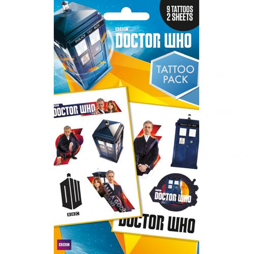 Tatouage Doctor Who  220428