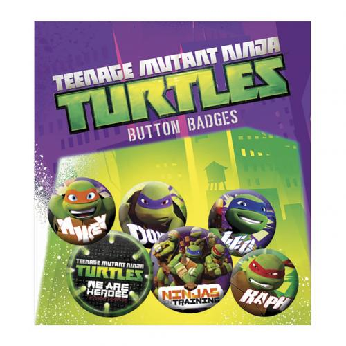 Set d'Épinglettes Tortues ninja
