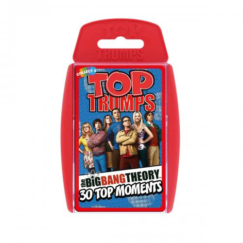 Jeu de cartes Top Trumps The Big Bang Theory