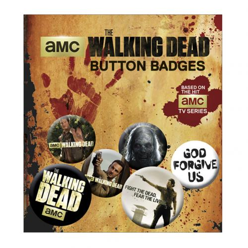 Set d'Épinglettes The Walking Dead