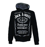 Sweat à Capuche Jack Daniel's Old No.7 Logo, Taille XL