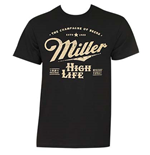 T-shirt Miller High Life - Logo