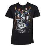 T-shirt Suicide Squad Photo de Groupe