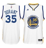 Maillot Golden State Warriors Kevin Durant Adidas New Swingman Home Blanc