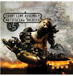 Vinyle Front Line Assembly - Artificial Soldier (Cherry Coloured Vinyl)
