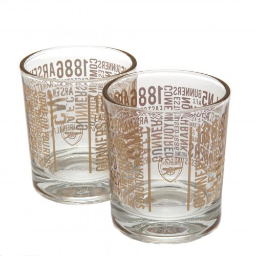 Set de Verres à Whiskey Arsenal FC