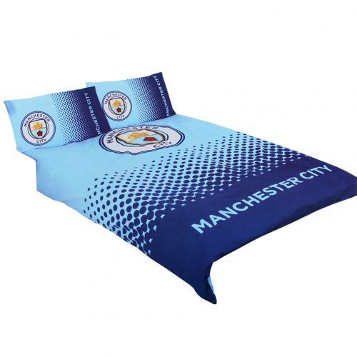 achetez housse de couette manchester city fc 2 places. Black Bedroom Furniture Sets. Home Design Ideas